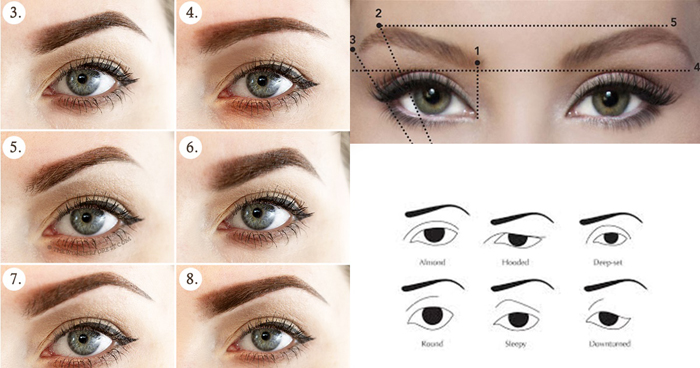 how-to-create-a-brow-shape-ccording-to-your-eye-type